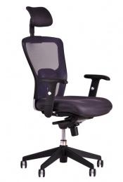židle MAGNOLIE antracit sleva č. 1002 kancelárská stolička
