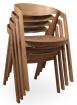 židle Guru dub masív kancelárská stolička