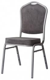 banketová židle Standard Line ST850 šedá - šedá kancelárská stolička