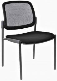 stolička OPEN CHAIR 10 - kostra čierna, bez podrúčok