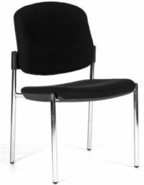 stolička OPEN CHAIR 20 - čierna, bez podrúčok