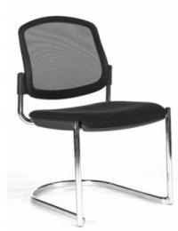 stolička OPEN CHAIR 30 - kostra čierna, bez podrúčok
