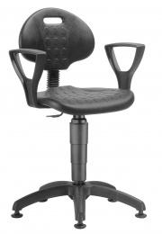 stolička 1290 3009 PU NOR, plast, klzáky