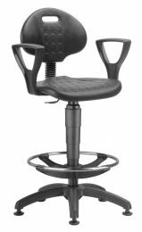 stolička 1290 3059 PU NOR, plast, extend, klzáky