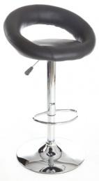 barová stolička UTAH čierna