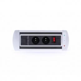 Elektrifikácia Vault BTCZ 011 - Zásuvky priamo na vašom stole
