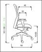 stolička REFLEX ŠÉF E-SYNCHRO