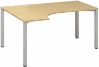 ALFA 200 stôl kancelářský 221, rohový levý