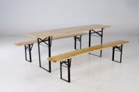 Pivný set stôl 50š + 2 lavice