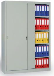 Archivačná skriňa se zasouvacími dveřmi 186301 šedá