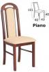 stolička PIANO