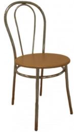 stolička TULIPÁN - dřevěný sedák