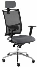 kancelárska stolička LARA síť ŠÉF,SYNCHRO