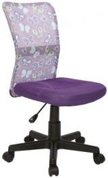 Halmar Detská stolička DINGO - farba fialová