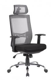 stolička MARIKA YH-6068H sivá