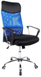 kancelárska stolička PREZIDENT modrý