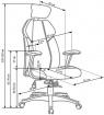 kancelářská židle CHRONO kancelárská stolička