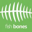 Kancelárska stolička FISH BONES PDH šedý plast, šedá koženka