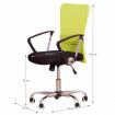 Kancelárska stolička AEX, zelená