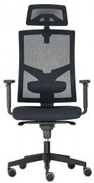 židle GAME ŠÉF, Synchro-SYNCHRO-skladová BLACK 27