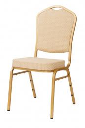 banketová židle Standard Line ST314 béžovo - zlatá_ kancelárská stolička