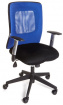 kancelárska stolička CORTE modrá, zľava č. A1198.sek
