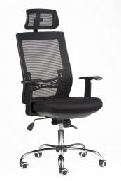 kancelárska stolička MARIKA YH-6068H čierna, č. AOJ002