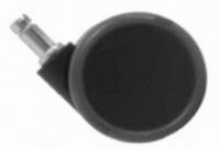 Kolečko zátěžové TREND pogumované priemer 65mm, čep 11mm