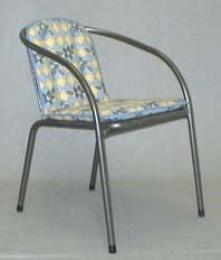 Polstr na židli nízký oblouk U305