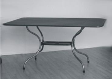 Kovový zahradní stôl TAKO 145x90cm - U506
