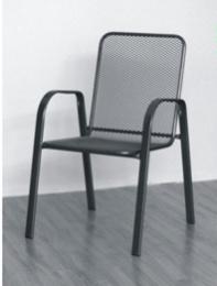 stolička kovová SÁGA nízká U001