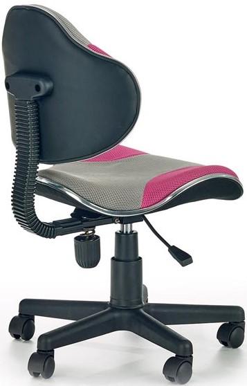6d2bfb6b6012 Detská otočná stolička FLASH 2 je položená na plastovom kríži