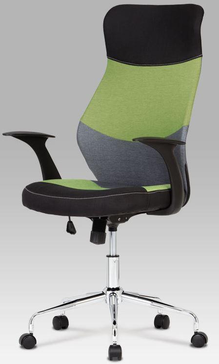 ef543c2206a87 Kancelárska stolička KA-N849 GRN Kancelárska stolička látková - mix farieb.  Sedák a operadlo stoličky je očalúnenie do látky farby v prírodnom tóne  doplnené ...