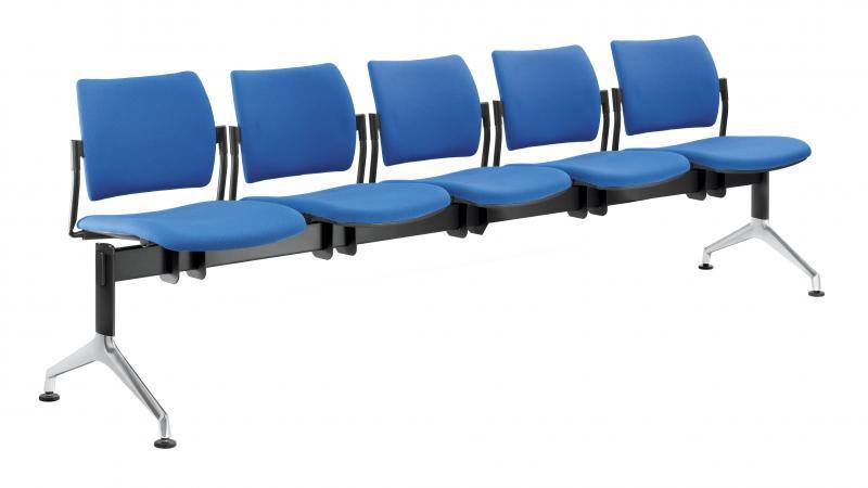 LD SEATING lavice DREAM 140/5-N2, podnož šedá