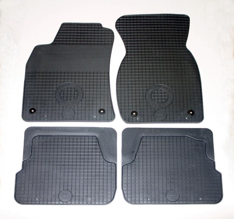 GUMÁRNY ZUBŘÍ Koberce gumové Audi A6 1997-2003
