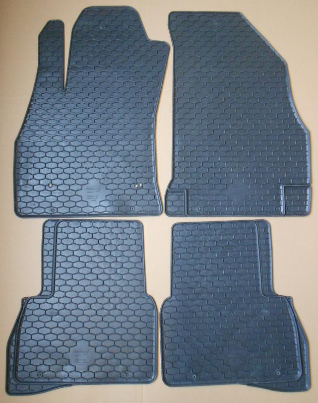 GUMÁRNY ZUBŘÍ Koberce gumové Fiat Doblo II 2009