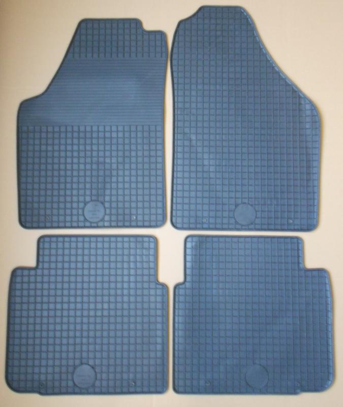 GUMÁRNY ZUBŘÍ Koberce gumové Fiat IDEA 2004