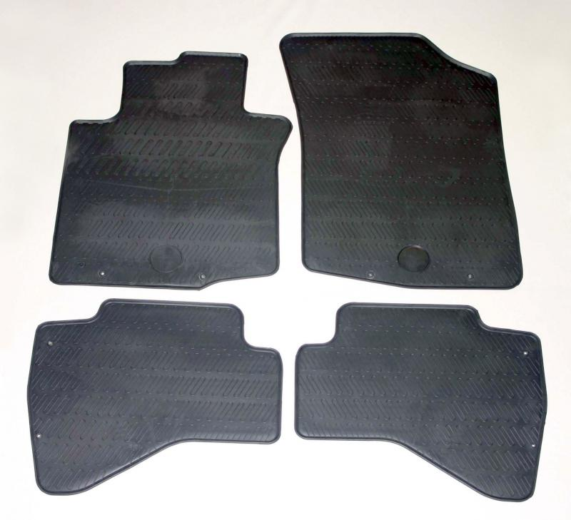 GUMÁRNY ZUBŘÍ Koberce gumové Toyota Aygo 2005