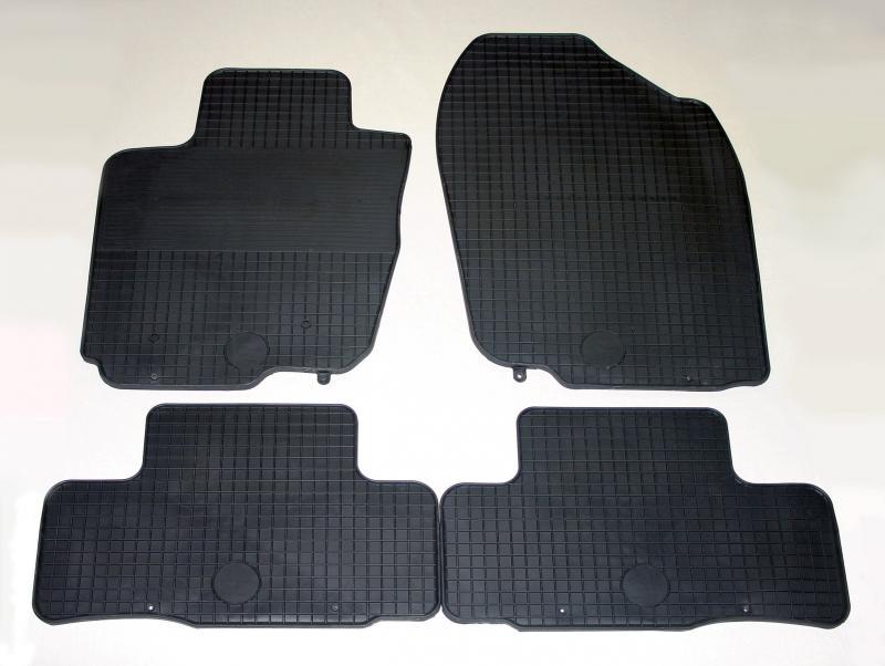 GUMÁRNY ZUBŘÍ Koberce gumové Toyota RAV 4 2006-2012