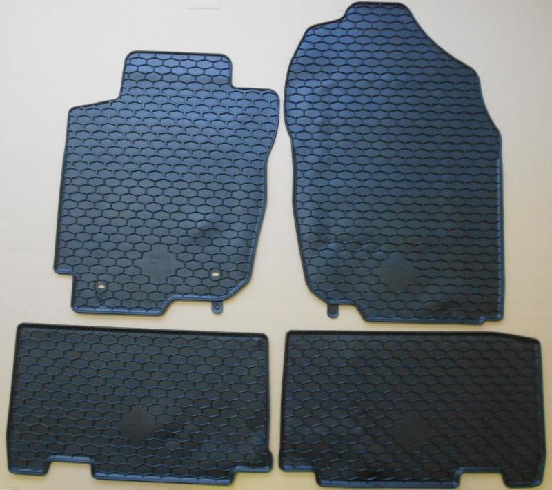 GUMÁRNY ZUBŘÍ Koberce gumové Toyota RAV 4 2012