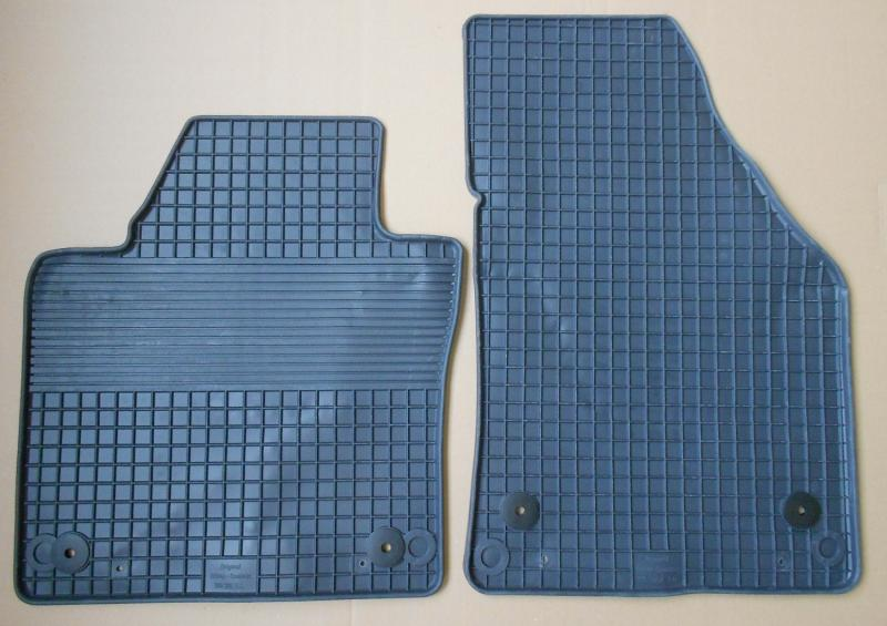 GUMÁRNY ZUBŘÍ Gumové koberce VW CADDY MAXI 2008