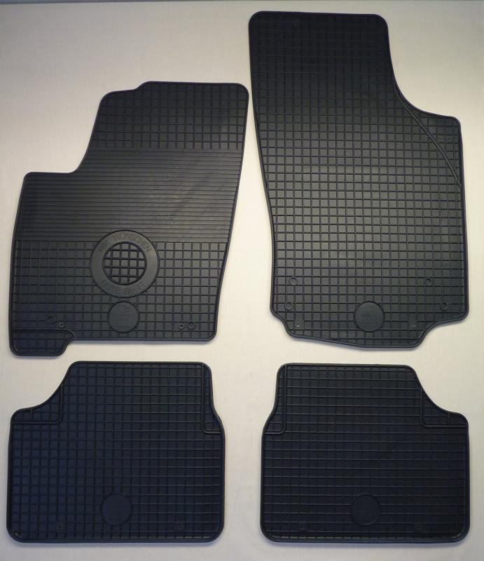 GUMÁRNY ZUBŘÍ Koberce gumové Opel MERIVA 2002-2010