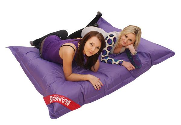 BEAN Sedací pytel 179x140 perfekt violet