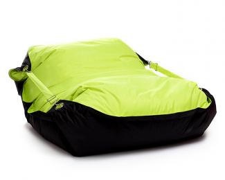 Sedací vak Omni Bag Duo s popruhmi Fluorescent Yellow-Black