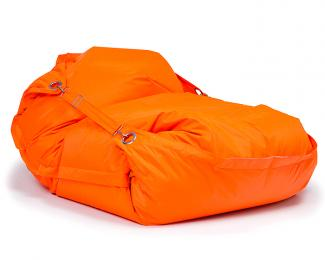 Sedací vak Omni Bag s popruhmi Fluorescent Orange 181x141