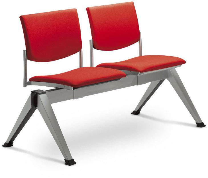 LD SEATING 2-lavice SEANCE 099/2-N1, podnož čierna