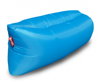 Inflatable sedací vak blue