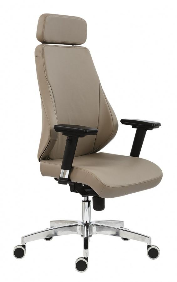 ANTARES kancelárska stolička 5030 Nella ALU PDH.  Moderná kancelárska stolička 5030 Nella Alu Pdh s podhlavníkom, vy