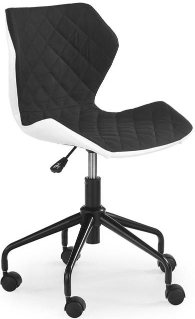 HALMAR Detská stolička MATRIX čierna