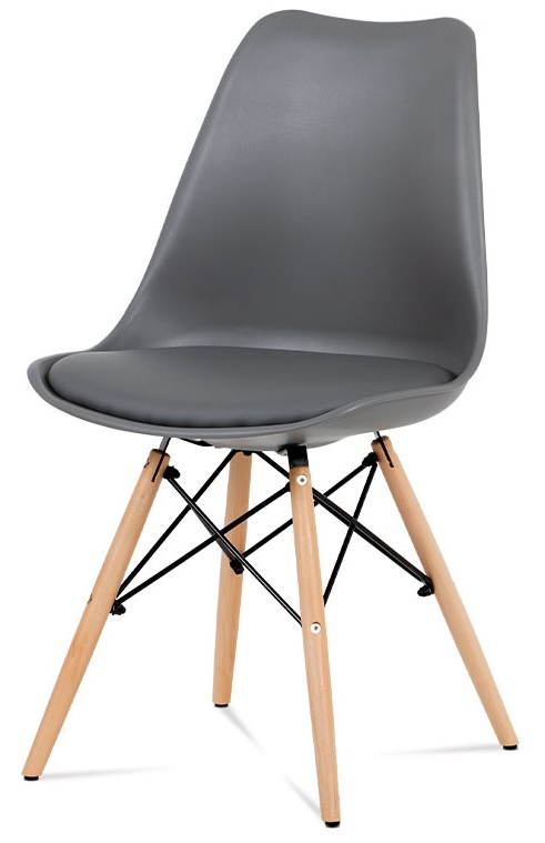 AUTRONIC Jedálenská stolička CT-741 GREY